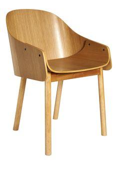 CALLAHAN Esszimmerstühle Holzfarben Holz
