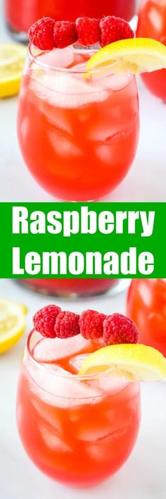 Raspberry Lemonade - Pureed raspberries give fresh squeezed lemonade such a great new flavor! So easy to make and the perfect refreshing summer drink! Sangria Recipes, Beer Recipes, Smoothie Recipes, Vegan Recipes, Drink Recipes, Juice Recipes, Recipies, Fresh Squeezed Lemonade, Raspberry Lemonade