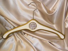 One Couture Wedding Gown Hanger by CrystalBroochBouquet on Etsy, $72.00