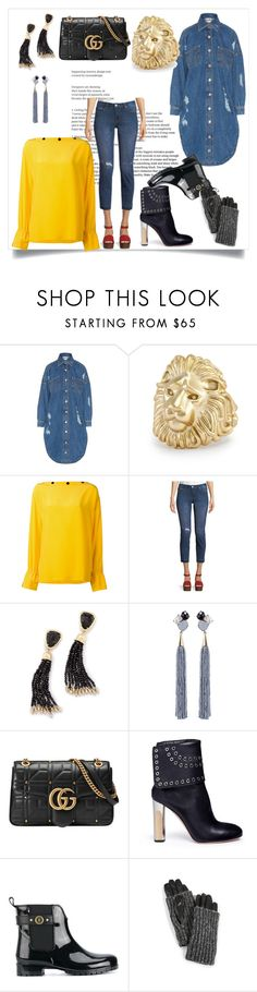"""set for amazing"" by kristeen9 on Polyvore featuring Moschino, Kendra Scott, Emilio Pucci, Dex, Mignonne Gavigan, Gucci, Alexander McQueen, Tommy Hilfiger and Carolina Amato"