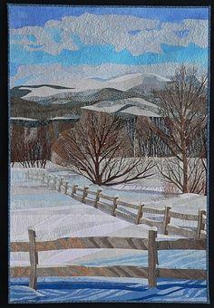 """Pasture View (from Senor Road)"" by Pamela Druhen"