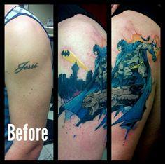 batman cover up tattoo - Google Search
