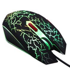 2016 New Adjustable 2400DPI 6 Buttons Optical USB Wired Gaming Game Mouse LED for PC Laptop