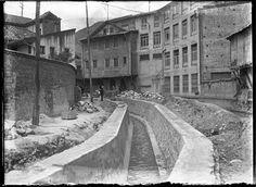 Bogota _Canal río San Francisco (2), 1930.