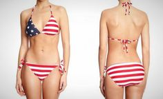 Headed to the beach for the 4th? This is the bikini for you.