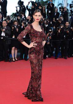 """""""La Venus a la Fourrure"""" Premiere  Bianca Balti in Dolce & Gabbana"""