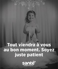Speed Dating - Everything will come to you at the right time. Just be patient French Words, French Quotes, Lines Quotes, Daily Positive Affirmations, Quote Citation, My Mood, Motivation, Positive Attitude, Mood Quotes