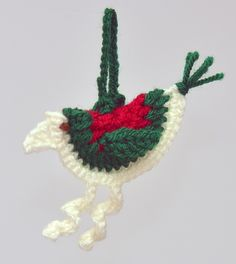 Ravelry: Christmas Bird pattern by Ali Crafts Designs