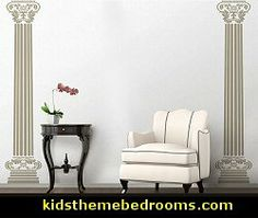 "The Columns Of Aphrodite wall decal-greek mythology decor. Our set ""The Columns Of Aphrodite"" decorates your home with elegance and pomp with the style of Greek antiquity."