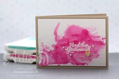 Stampin' Up! - Video - Geburtstagskarte - Aquarell - Wassermelone ❤︎ Stempelwiese