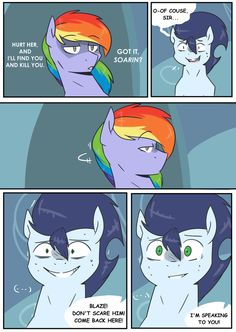 Rainbow Crush! #172 by dividedby-ZER0 on @DeviantArt Mlp Memes, Jojo Memes, Rainbow Dash And Soarin, Rick And Morty Crossover, Mlp Comics, My Little Pony Comic, Mlp Fan Art, Childhood Movies, Imagenes My Little Pony