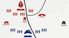 Waterloo battle map