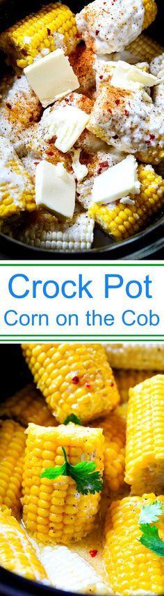 Crock Pot Corn on the Cob More