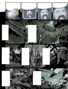 "Page 39 from ""Au nom du pere"". La Mandiguerre, Tome IV.  Text: JD Morvan.  Art: Stefano Tamiazzo.  #delcourt #morvan #bd #manga #comics #fumetti #sceneario #lamandiguerre #steampunk #stefanotamiazzo"