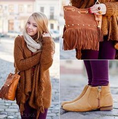 Big brown sweater