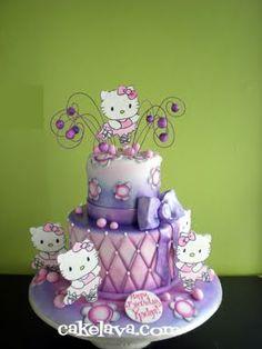 Hello Kitty ballerina cake @Jenny McDermond For your next bday? ;)