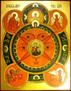 Russian Icon: The All-Seeing Eye of God