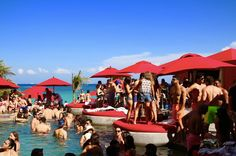 Best Beach Clubs In Cancun Cina Daylight Club Mexico Vacation