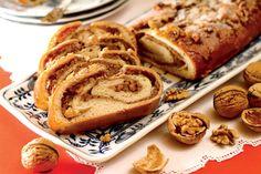 Cozonac cu nucă - Retete culinare - Romanesti si din Bucataria internationala