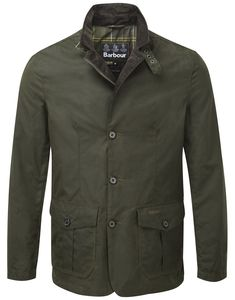 Barbour Men's Lutz Waxed Jacket – Olive MWX0566OL51