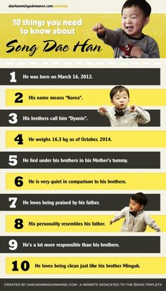 10 things you need to know about Song Daehan
