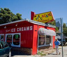 Marianne's Ice Cream. Santa Cruz, CA. The best ice cream ever.