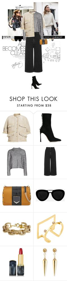 """""""Moment of inspiration."""" by sa3ina ❤ liked on Polyvore featuring Isabel Marant, Hedi Slimane, Rebecca Minkoff, H&M, Sergio Rossi, T By Alexander Wang, Topshop, Jimmy Choo, Quattrocento and J.Crew"""