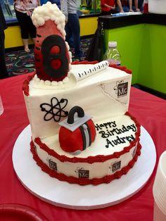 Project Mc 2  Birthday cake