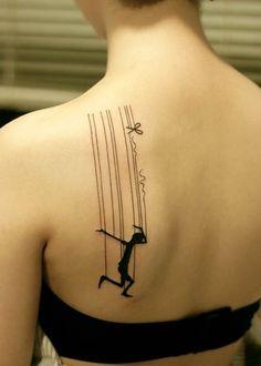 Dancing tatoo.