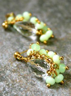 Fanned Cluster Gypsy Earrings