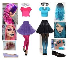 """""""Cheshire Cat - Which are you?"""" by shadow-cheshire ❤ liked on Polyvore featuring Milly, Sergio Rossi, Old Navy, women's clothing, women's fashion, women, female, woman, misses and juniors"""