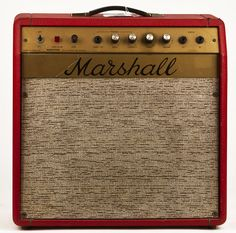 Marshall Model 2060 Mercury 1-12 Combo Early 70's Red tolex