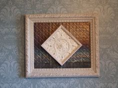 Somethin' Salvaged: Tin ceiling tiles