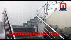 Cầu thang inox tay vịn inox thi công và lắp đặt tại Hà Nội