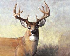 Penny Rose Fabrics Majestic Outdoors P5570 Deer 34X44 Digital Deer Panel