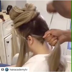 Step by step chignon @beautycodeme @beautycodemena #beautycodeme #Repost @hairacademytv with @repostapp ・・・ hair by @artak_hairstylist  Tag your friends watch  @hairvideoshow  @hairacademytv  @hairvideoshow  @hairacademytv ❤❤ #Repost @hairvideoshow ・・・ 👀Watch ❤❤👉Follow: @hairacademytv 💜💙 #love #girl #beautiful #brazilianblowout #smile #fashion #amazing #style #loveit #art #beauty #pretty #hair #cool #hot #happy #me #instagood #b3 #summer #instalove #balayaje #ombre #color #haircut…