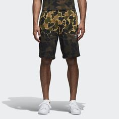timeless design 52308 a7ce6 adidas Camouflage Shorts - Mens Shorts