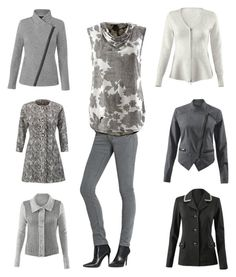 """All these shades of grey"" by kirsten-dolan on Polyvore featuring cabi www.stephaniemill.cabionline.com"