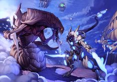 Starcraft 2 Hydra vs. Zealot