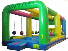 Buy cheap and high-quality Gauntlet Wet/Dry Inflatable Game. On this product details page, you can find best and discount Inflatable Games for sale in 365inflatable.com.au
