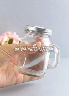 10 mini caneca mason jar mini 125ml lembrancinha aniversário