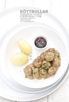 Swedish meatballs // Polpette svedesi