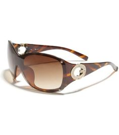 G by GUESS Rimless Plastic Sunglasses With G Temple, TORTOISE SHELL G by GUESS. $24.75