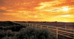 Carnarvon Jetty at sunset