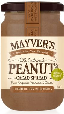 Organic Peanut & Cacao | Mayvers: this stuff is the bomb!!!