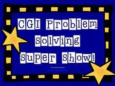CGI-Style Math Problem Solving Show! 100% editable word problems! 100% AWESOME! - Howywood Kindergarten - TeachersPayTeachers.com