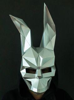 Make your own Donnie Darko Half Mask