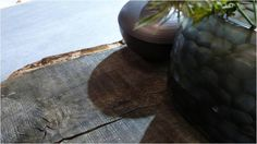 Wood is the cherished material and sometimes used in very raw form, as if it was a found object.