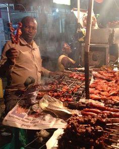 Delicious spicy suya, Ghana