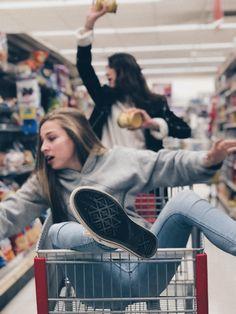 Us in a grocery store -Emma Dear Best Friend, Bestest Friend, Best Friend Goals, Bff Pictures, Best Friend Pictures, Friend Photos, Bff Pics, Friendship Photos, Best Friend Photography